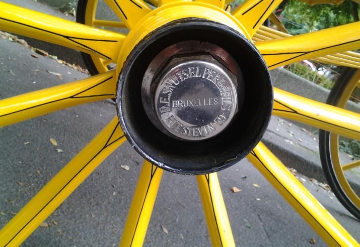 wiel van koets