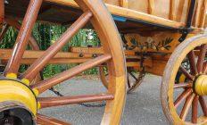 detail boerenwagen onderstel