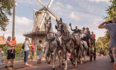 postkoets met 4 paarden