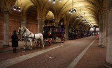 paard en koets in Amsterdam